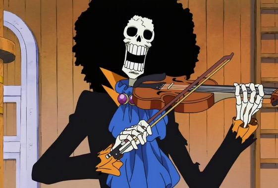 【ワンピース】麦わら一味の音楽家・ブルックに隠された秘密とは?